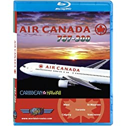 Air Canada Boeing 767-300 St Maarten & Hawaii [Blu-ray]