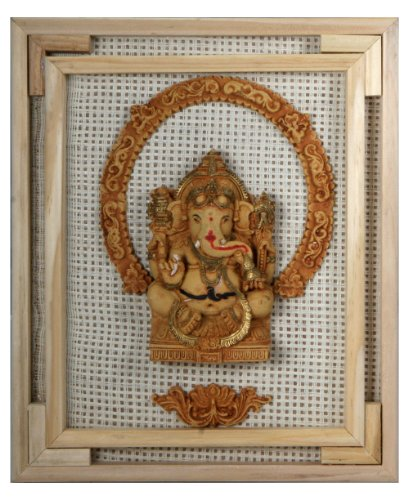 Ganesh Wall Art on Recycled Board