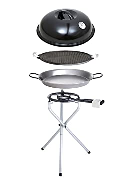 8 paellaworld 11000 barbecue portable portable avec plaque de cuisson 42 42. Black Bedroom Furniture Sets. Home Design Ideas