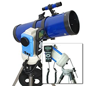TwinStar Blue 4.5″ iOptron Computerized GPS Equatorial Reflector Telescope