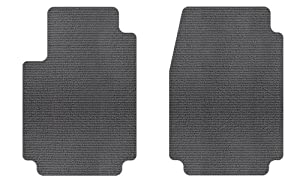 Intro-Tech Berber Front Row Custom Floor Mats for Select Oldsmobile Delta 88 Models - Carpet (Charcoal)
