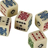Bello Games Set Of 5 Poker Dice