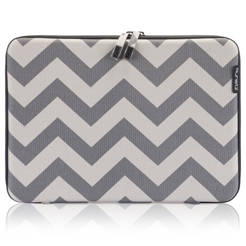 Find Cheap Runetz - 13-inch Chevron Gray Hard Sleeve Case Cover for MacBook Pro 13.3 with or w/out ...