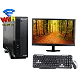 "VERY SLIM 3YRS WARRANTY DESKTOP WITH CORE I5 CPU / 2GB RAM/ 2TB HDD / DVDRW / ATX CABINET WITH 18.5"" LED DESKTOP PC COMPUTER"