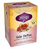 Yogi Skin DeTox, Herbal Tea Supplement, 16-Count Tea Bags (Pack of 6)