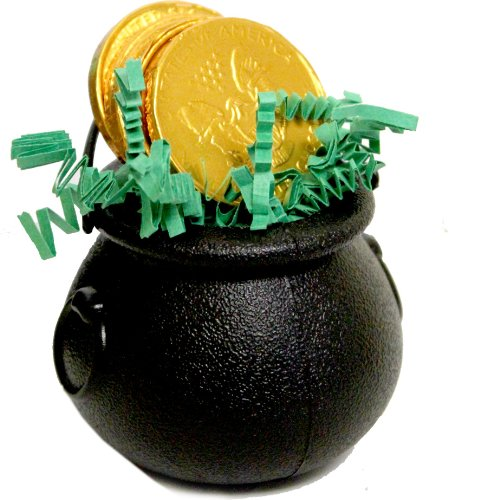 Saint Patricks Day Cauldron  Chocolate Coins
