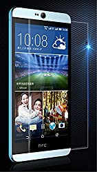 iConnect World Explosion Proof Quality Tempered Glass For HTC Desire 826 Scratch Protector Screen Guard