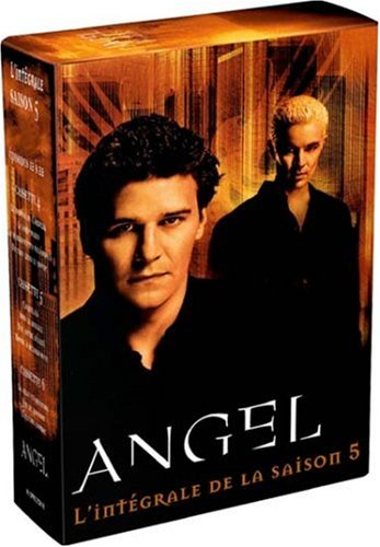 gadget geek - angel saison coffret dvd