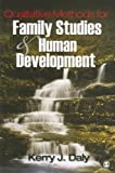 img - for Qualitative Methods for Family Studies and Human Development book / textbook / text book
