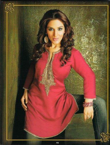 ladies cotton blended split neck designer tops / tunics / dresses / kurta