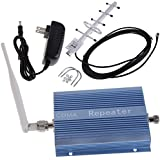 Vktech® CDMA 850MHz Mobile Phone Signal Repeater Booster Amplifier + Yagi Antenna