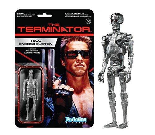 Funko The Terminator Chrome T-800 Endoskeleton ReAction Figure by FunKo