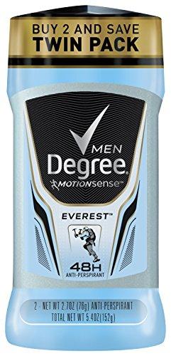 Degree Men motion Sense Antiperspirant & Deodorant, Everest 2.7 oz