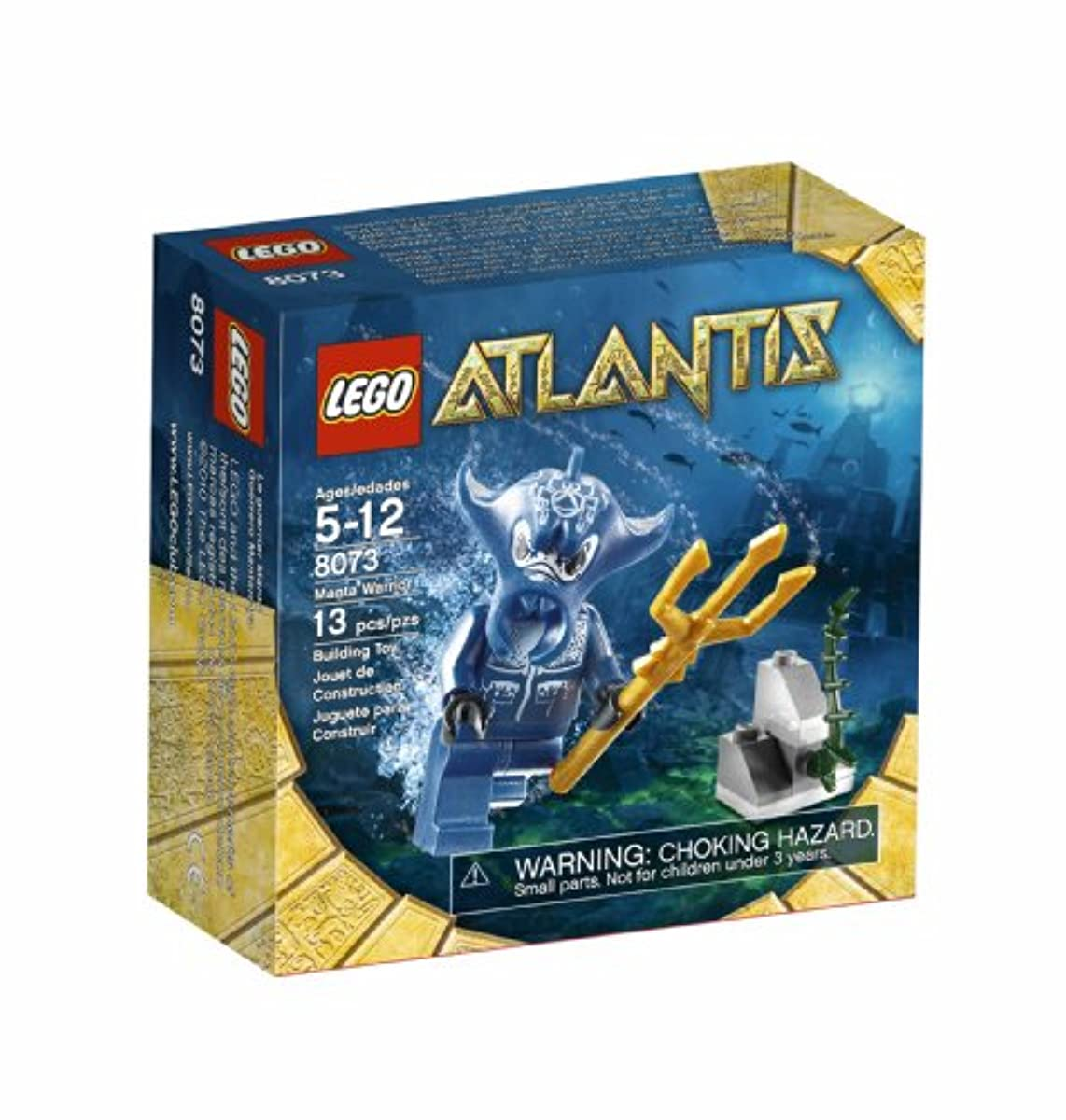 [해외] LEGO 8073 MANTA WARRIOR 레고 아틀란티스 A 인건