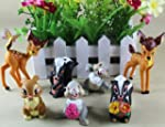 Bambi 4cm-9cm PVC Figur Set of 7 pcs