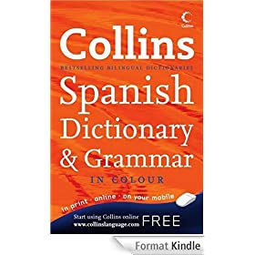 Collins English Spanish Dictionary Vol.1