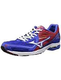 Mizuno Running Shoes Wave Spacer Dyna (Red / Silver / Blue) J1ga147604