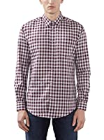 ESPRIT Camisa Hombre (Violeta)