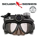 Liquid Image XSC 318Wide Angle Scuba Series 12.0MP HD720P - Mid Size Skirt Waterproof Video Camera with 1-Inch LCD Screen (Charcoal)