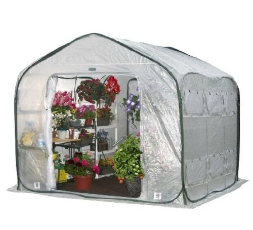 Flower House Fhfh700 Farmhouse Walk-In Greenhouse front-913866