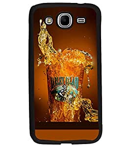PrintDhaba Beer Glass D-2086 Back Case Cover for SAMSUNG GALAXY MEGA 5.8 (Multi-Coloured)