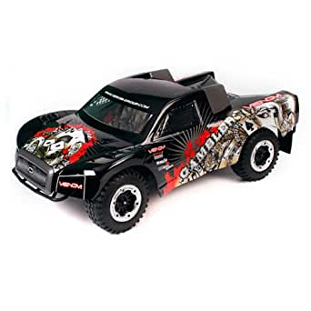 Atomik Venom Gambler RTR Short Course Truck Brushed - Black