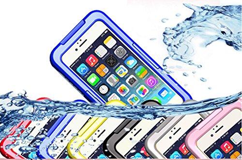 全4色VSTNApple iphone 6 4.7 インチ 専用防水防塵ケース iphone 6 4.7 inch  防水ケース 防水 防塵 耐衝撃 iphone6 スマホケース カバー アイフォン6 iPhone ケース 防水ケース (Apple iphone 6 4.7 インチ, ブルー)
