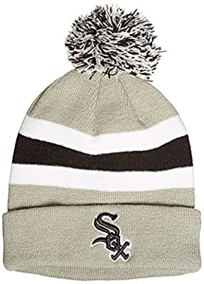 MLB Chicago White Sox '47 Brand Breakaway Cuff Knit Hat with Pom