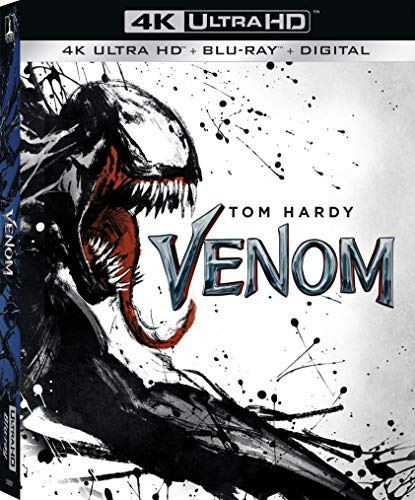 4K Blu-ray : Venom (With Blu-ray, 4K Mastering, 2 Pack, Digital Copy)