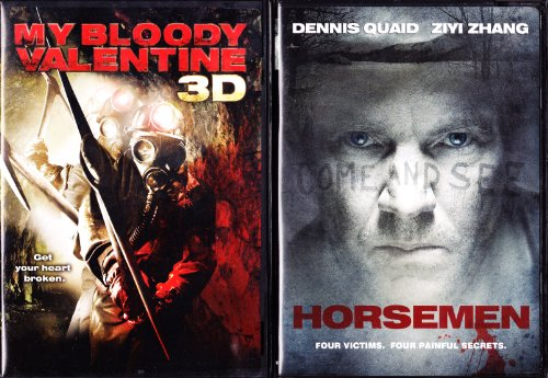 My Bloody Valentine 3D , Horsemen : Horror 2 Pack