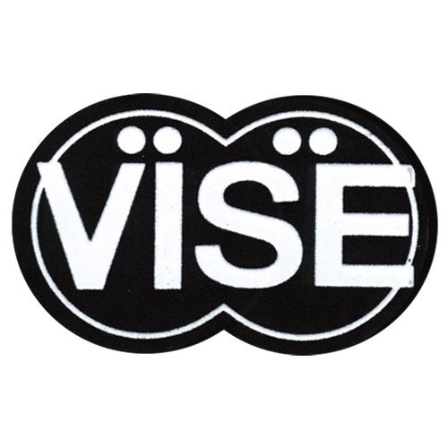 Vise Logo Patch (12 square inch) - BLACK / 12 INCH multifunction milling machine vise fixture adjustable worktable for bench drilling tool