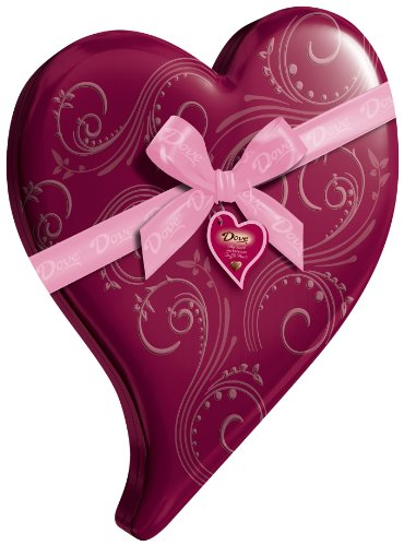 Dove Valentine's Truffle Hearts, Milk Chocolate,