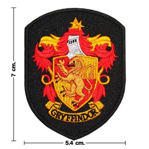 Amazon.com : Harry Potter House of GRYFFINDOR Gown Shirt Crest Patch