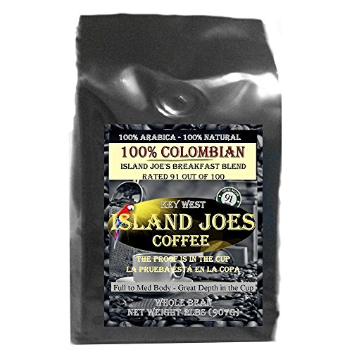 Island Joes Best Coffee Reviews (Colombian Coffee Rated 91 Out Of 100)
