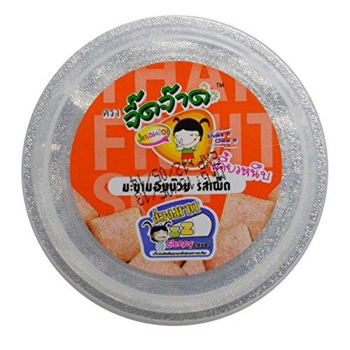 Chewy Tamarind Candy With Spicy Plum Snack Jeedjard Brand Netwt 50G (1.76 Oz) X 4 Box