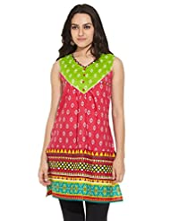 ANAHI Ladies Cotton Printed KURTA - B00QGSVPRW