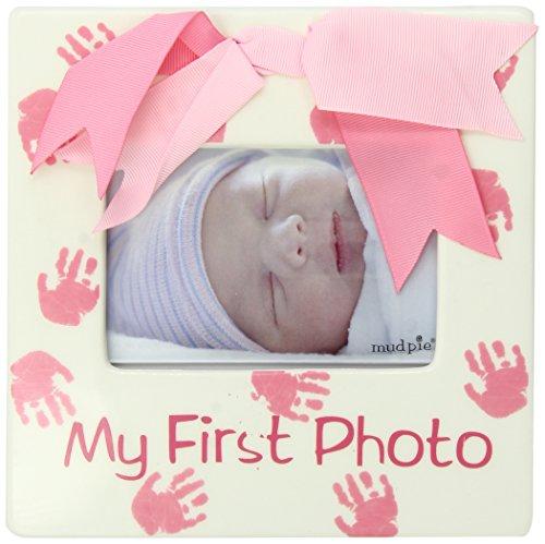 Mud Pie Baby Little Princess Ceramic My First Photo Frame