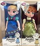日本ディズニー正規品 Disney 『 アナと雪の女王 』 トドラー ドール エルサとアナセット (アニメーター コレクション ドール)