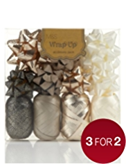 Gold Wrapping Accessories Pack