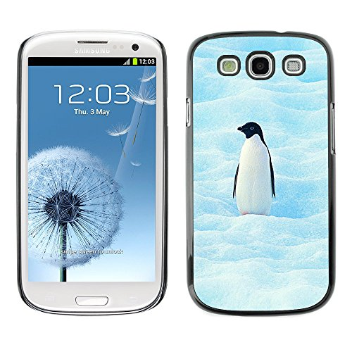 Omega Case Strong & Slim Polycarbonate Cover - Samsung Galaxy S3 Iii I9300 ( Cool Penguin )