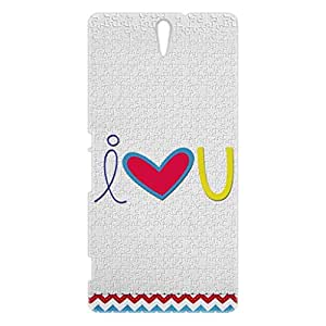 a AND b Designer Printed Mobile Back Cover / Back Case For Sony Xperia C5 Ultra (SON_C5_3D_437)