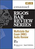 Multistate Bar Exam Audio Review: Torts (Mbe Audio)
