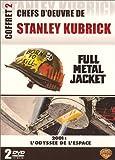 echange, troc Chefs d'oeuvre de Stanley Kubrick, Vol.2 : Full Metal Jacket / 2001 : L'Odyssée de l'espace