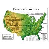 Pyramids in America Map