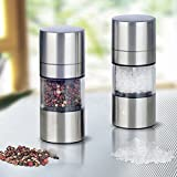 YOOYOO Portable Stainless Steel Manual Salt Pepper Spice Mill Grinder Kitchen Accessaries