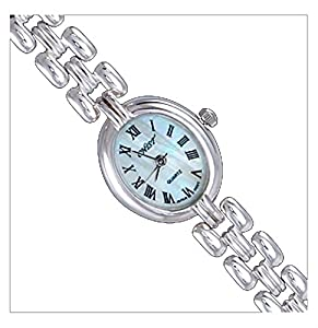Silver Watch, Oval by UK Gems
