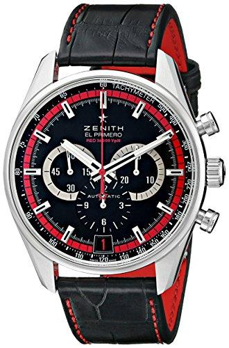 Customer Guide: Zenith Men's 032043400.25C Class El Primero Analog Display Swiss Automatic Black Watch