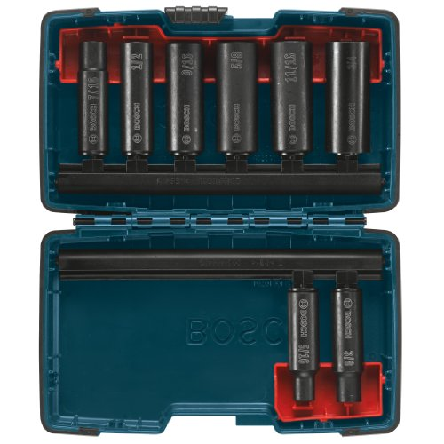 Bosch 27285 3/8-Inch Deep Well Socket Set, 8-Piece (Bosch Impact Drill 12v compare prices)