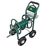 Palm Springs Garden Heavy Duty Water Hose Reel Cart - Hold up to 230FT x 5/8""