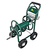 Palm Springs Garden Heavy Duty Water Hose Reel Cart - Hold up to 230FT x 5/8